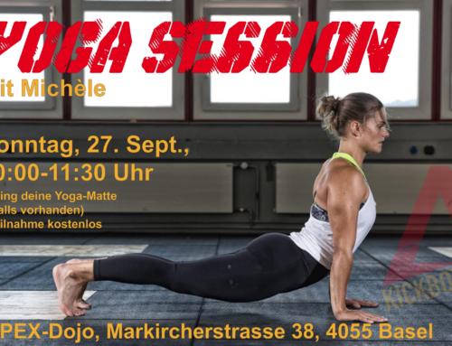 Yoga Session, 27.09.20